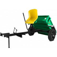 Адаптер АПМ-350 c кузовом 100х80 см, для работы с навесным оборудованием и транспортировки грузов