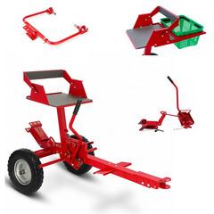 Адаптер для мотоблока Мобил К АПМ-350 ПРО с набором для обработки земли, кошения, корзиной