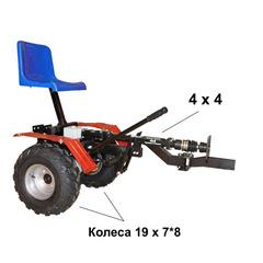 Адаптер полноприводной АМПК-1 к мотоблокам серии «Угра» колеса 19 х 7*8