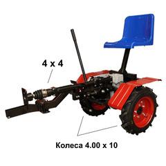 Адаптер полноприводной АМПК-1 к мотоблокам серии «Угра» колеса 4.00 х 10