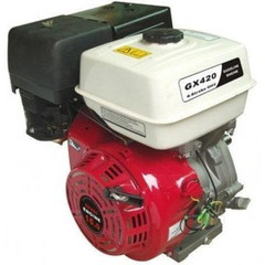 Двигатель Shtenli GX420 (Вал 25мм, шпонка) 16 л.с.