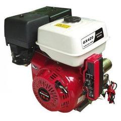 Двигатель Shtenli GX420е с электро стартером (Вал 25 мм, шпонка) 16 л.с.