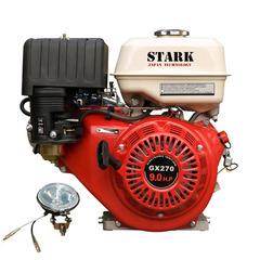 Двигатель STARK GX270 SN (шлицевой вал 25 мм,80x80) 9 л.с.
