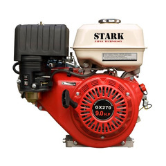 Двигатель STARK GX270 (вал 25мм, 90х90) 9 л.с.