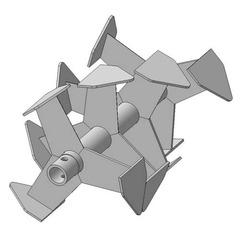 Фрезы Гусиные лапки пос. 30 мм., усиленная втулка
