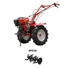 Культиватор бензиновый ASILAK SL-106 колеса 6.50-12 (10 л.с., шир. 115 см, без ВОМ, передач 2+1, колесо 6.50-12) В Комплекте (фрезы)