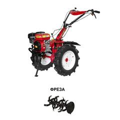 Культиватор бензиновый FERMER FM-909MSL колеса 5.00-12 (8 л.с., шир. 100 см, колесо 5.00-12, без ВОМ, передач 3+1, пониженная передача) В Комплекте (фрезы)