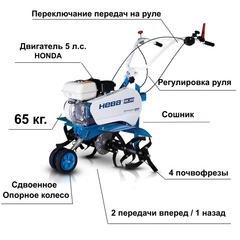 Культиватор бензиновый Нева МК-200-Н5.0 с двигателем HONDA GP-160 5.0 л.с.
