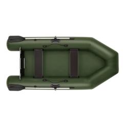 Лодка надувная ПВХ Фрегат 280 Е Лайт ст, с плоским днищем, системой крепления ликпаз/ликтрос, с веслами