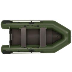 Лодка надувная ПВХ Фрегат 280 ЕK пт, с надувным кильсоном, системой крепления ликпаз/ликтрос, с веслами