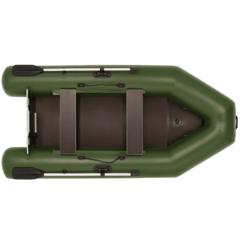 Лодка надувная ПВХ Фрегат 300 ЕК ст, с надувным кильсоном, системой крепления в литых держателях, с веслами