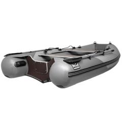Лодка надувная ПВХ Фрегат М-310 C ст, килевая лодка ПВХ с пайолом, системой крепления в литых держателях, с веслами