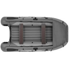 Лодка надувная ПВХ Фрегат 350 Air F с фальшбортом, надувным дном низкого давления, с веслами