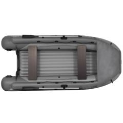 Лодка надувная ПВХ Фрегат 420 Air F с фальшбортом, надувным дном низкого давления, с веслами