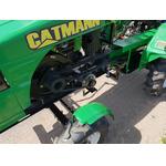 Минитрактор CATMANN T-18 ECO-Line с Прицепом,  дизельным двигателем KAMA 18 л.с., ВОМ, 4х2. В комплекте (плуг двухкорпусный,  почвофреза, окучник тройной)