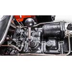 Минитрактор Кентавр Т-244 с Прицепом и дизельным двигателем Toyokawa 24 л.с., ВОМ, 4х4. В комплекте (Фреза, окучник трехкорпусный, плуг двухкорпусный)