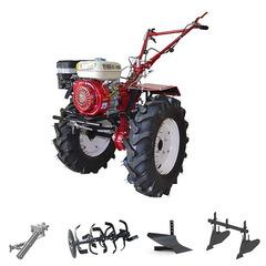 Мотоблок (культиватор) Stark ST-1000 с двигателем GX210, 8 л.с., колеса 7.00*12. В комплекте: (фрезы, сцепка, плуг, двойной окучник)