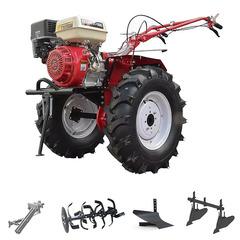 Мотоблок (культиватор) Stark ST-1800 с пониженной передачей и двигателем GX460, 18 л.с., колеса 7.50*12. В комплекте: (фрезы, сцепка, плуг, двойной окучник)