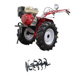 Мотоблок (культиватор) Stark ST-1800KM-L с двигателем GX460, 18.5 л.с., колеса 7.00*12 универсальный диск, фара, бампер