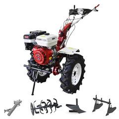 Мотоблок (культиватор) Stark ST-1800KM-L с пониженной передачей и двигателем GX460, 18.5 л.с., колеса 7.00*12, фара, бампер. В комплекте: (фрезы, сцепка, плуг, двойной окучник)