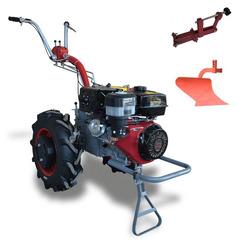 Мотоблок Мотор Сич МБ-13E с ВОМ,  колесами 6.0 х 12, дифференциалом, электростартером, двигателем WEIMA WM 188FE 13 л.с. В комплекте (грузы, зип, сцепка, плуг)