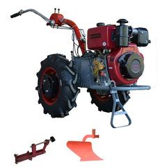 Мотоблок Мотор Сич МБ-9ДЕ с ВОМ,  колесами 6.0 х 12, дифференциалом, электростартером, дизельным двигателем WEIMA WM 178FE 9 л.с. В комплекте (грузы, зип, сцепка, плуг)