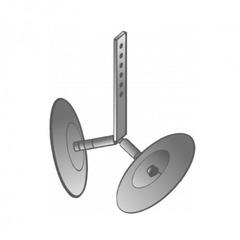 Окучник дисковый (260мм)