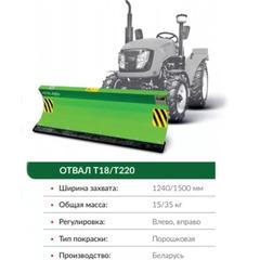 Отвал Kerland T18