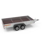 Прицеп автомобильный, двухосный, Белтрейлер ВТ-4002Н-18 (3700х1800, 750 кг., R14)