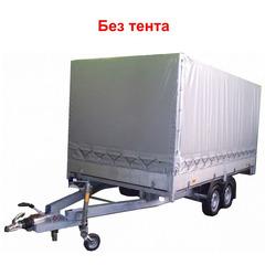 Прицеп автомобильный, двухосный, Трейлер 4,0 КПП ++ (4000*2000, 2000 кг., R13)
