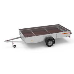 Прицеп автомобильный, одноосный, Белтрейлер ВТ-370Н-00, (3700х1800 750 кг., R14)