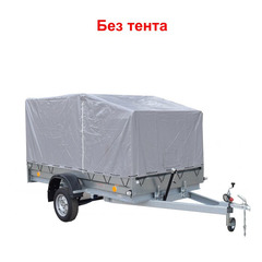 Прицеп автомобильный, одноосный, Трейлер 3,0х1,5 (3000*1500, 750 кг., R13)