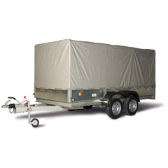 Прицеп автомобильный, с тентом, двухосный, Трейлер 3,6 ++ (3600*1600, 1500 кг., R13)