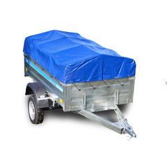 Прицеп автомобильный, с тентом, одноосный, Кремень Бизнес (2250х1290, 740 кг., R13)