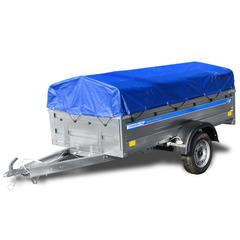 Прицеп автомобильный, с тентом, одноосный, Кремень Бизнес (2500х1290, 740 кг., R13)