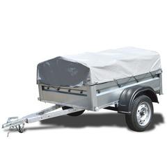 Прицеп автомобильный, с тентом, одноосный, Кремень Стандарт плюс (1700х1300, 740 кг., R13)