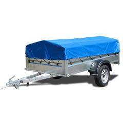 Прицеп автомобильный, с тентом, одноосный, Кремень Стандарт плюс (2500х1290, 740 кг., R13)