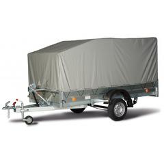 Прицеп автомобильный, с тентом, одноосный, Трейлер 3,2х1,4 (3200*1400, 750 кг., R13)